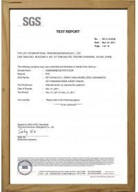 Homogéneo PVC Pisos(SGS)