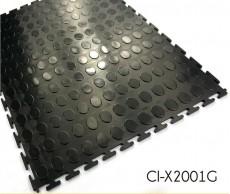 Anti-corrosión Garaje PVC suelo de Enclavamiento