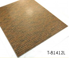 Piso de vinilo con patrón de tejido Lujoso