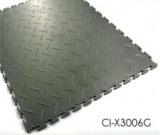 Enclavamiento PVC Azulejos con patrón de diamante