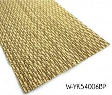 Tejido piso de vinilo con color metálico