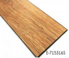 Apariencia de madera PVC piso de enclavamiento