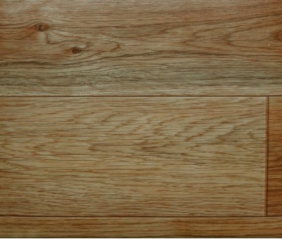 Superficie de Poliuretano Modelo de madera Piso de Vinilo por Rollo